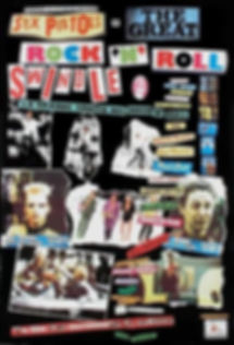 Great Rock 'n' Roll Swindle poster, Sex Pistols, Julien Temple, The Future is Unwritten, Joe Strummer, Clash, 1977, London Calling, punk, post-punk, slits