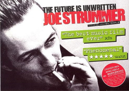 Julien Temple, The Future is Unwritten, Joe Strummer, Clash, Sex Pistols, 1977, London Calling, punk, post-punk, slits