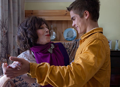 Fenella Fielding in Skins (Channel 4, 2012)