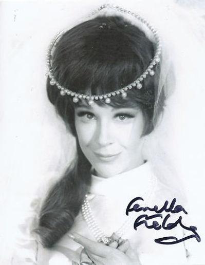Fenella Fielding in Drop Dead Darling film promo 1966