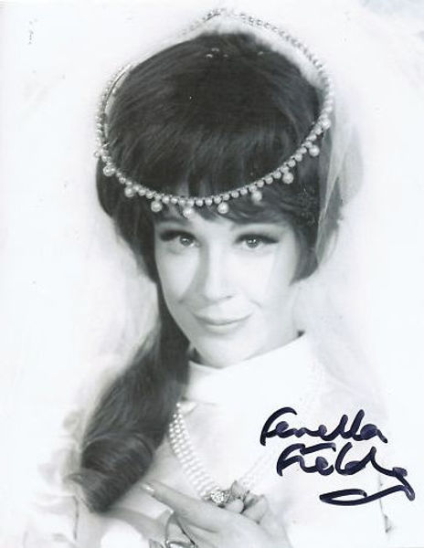 Fenella Fielding in Drop Dead Darling film promo 1966