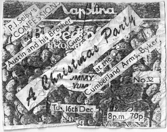 1986-12-16 Ticket for PJ Selbys Confessi