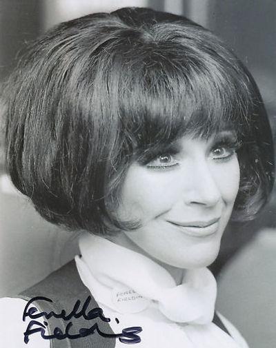 Fenella Fielding - Portrait mid-1970s taken at an event