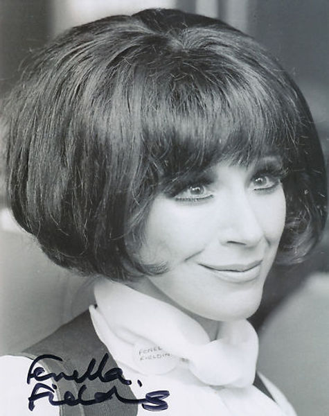 Fenella Fielding - Portrait mid-1970s taken at an event