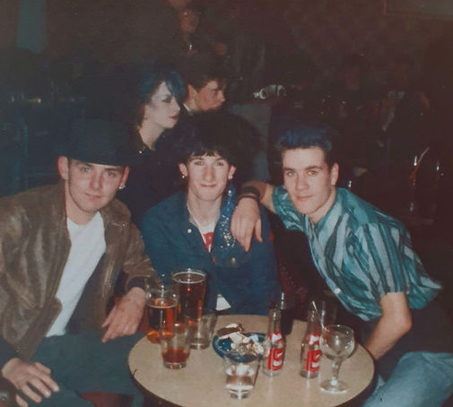 Mark Lambton, Richard Heraghty & Terry Knox, North Eastern Hotel, Newcastle Alternative Clubs in the 1980s, Rockshots, Tiffanys