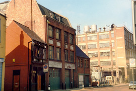 Newcastle Quayside Warehouses 1985