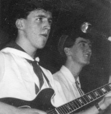 Bluebells, on-stage 1982, Newcastle City Hall, Young At Heart
