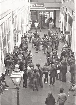 Handyside Arcade interior 1979 found on