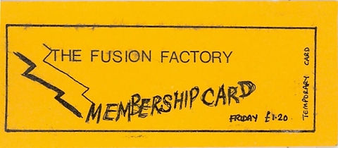 Fusion Factory, Mayfair, Newcastle Alternative Clubs in the 1980s, Tiffanys, Rockshots
