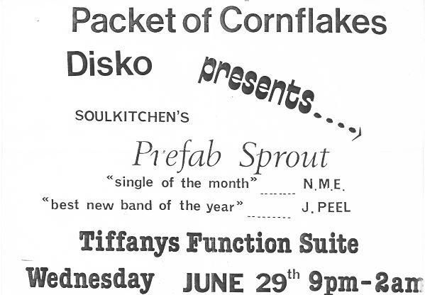 Prefab Sprout, Tiffanys 1983