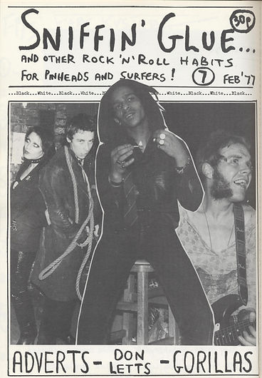 Sniffin' Glue, Don Letts, Punk Rock Movie, Westway to the World, Punk: Attitude, Joe Strummer, Clash, Slits, punk, post-punk
