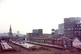 Manors Station 1985
