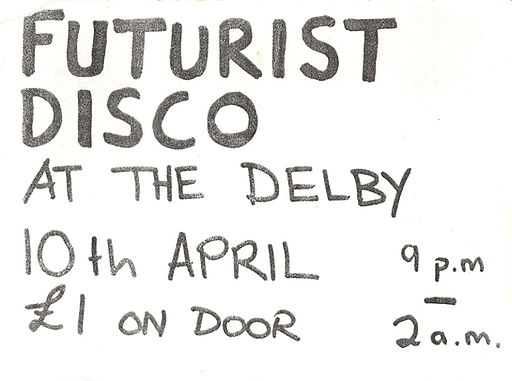 Delby, Futurist Disco, Newcastle Alternative Clubs in the 1980s, Rockshots, Tiffanys