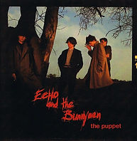 Echo & The Bunnymen, The Puppet, Korova Records, Ian McCulloch, record sleeve, cover, punk, post-punk, Clash, Joe Strummer, Slits, Gang of Four, Au Pairs, Eccentric Sleeve Notes