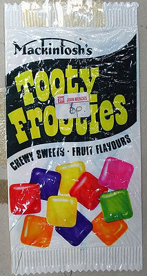 Tooty Frooties, where Big Toot got his name! Nigel Lewty, one of the founders of Gateshead punk venue The Station
