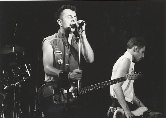 Joe Strummer, Paul Simonon, Clash, Newcastle City Hall 1982, Don Letts, Punk Rock Movie, Westway to the World, Punk: Attitude, Slits, punk, post-punk