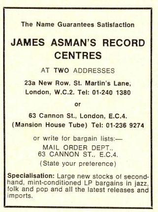 Dave Ruffy, James Asman's Record Centres, Ruts, Malcolm Owen, punk, post-punk, Babylon's Burning, In A Rut