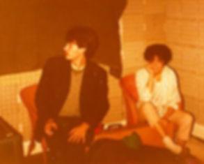 Steve, Sue in Moseley 1981, Tarzan 5, band, Boysgame, 021 Records, Birmingham, post-punk