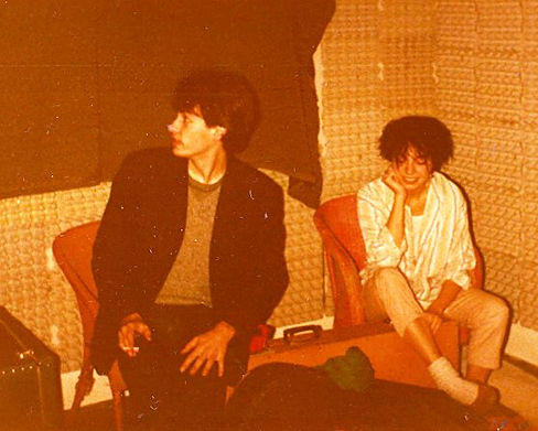 Steve, Sue in Moseley 1981, Tarzan 5, band, Boysgame, 021 Records, Birmingham, post-punk