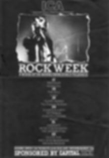 ICA Rock Week, Glaxo Babies, Monoconics, Denny Pooley, Grahame Cusack, Dave Green, Exit Stage Left, punk, post-punk, Clash, Slits, Gang of Four, Glaxo Babies