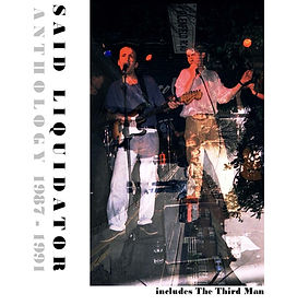 Said Liquidator CD Anthology, Front Cover, Newcastle Upon Tyne, 1980s band, indie, acoustic, pop, post-punk, Simon McKay, Spearmint