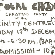 1981-12-18 Flyer for Total Chaos at Gate