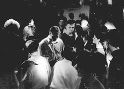 Rathaus at Rockshots Newastle, 1980s alternative clubs, post-punk