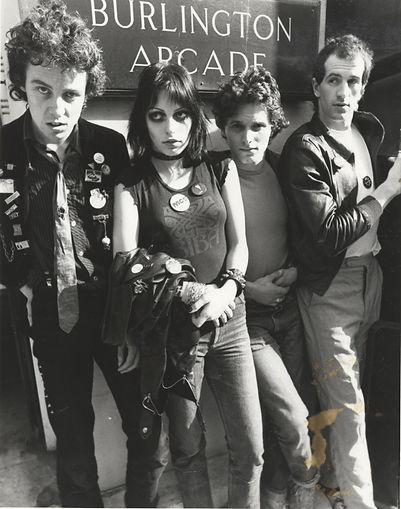 The Adverts, band, Burlington Arcade, London, Don Letts, Punk Rock Movie, Westway to the World, Punk: Attitude, Joe Strummer, Clash, Slits, punk, post-punk