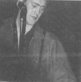 High Five, group, Asa Hayes, Onstage Newcastle University 1981, Wah!, Cold Steel Gang, Liverpool band, post-punk