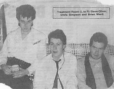 Treatment Room, Chris Simpson, Steve Oliver, Brian Ward, Newcastle alternative scene, single, shapes, awayday
