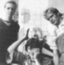 Fashionable Impure, logo, Venu Sanctus Spiritus, Chris Simpson, Bronek, Nick, Treatment Room, Newcastle alternative scene, 1980s, post punk, new wave band