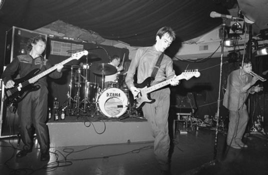 Hurrah Club, New York, 1980, Andy Gill, Guitarist, Gang of Four, Damaged Goods, Entertainment, I Love A Man In Uniform, post-punk