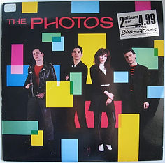 Photos LP cover, Wendy Wu, Blackmail Tapes, punk, post-punk, Clash, Slits, Joe Strummer