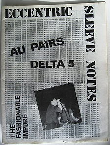 ESN1 cover, Au Pairs, Delta 5, Fashionable Impure