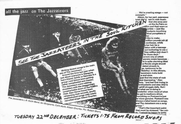 Jazzateers 1981