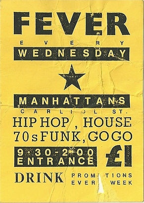 Fever, Manhattans, Newcastle Alternative Clubs in the 1980s, Tiffanys, Rockshots