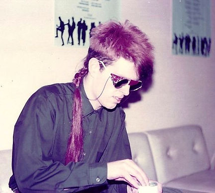 Tom Bailey, Thompson Twins backstage at The Tube, 1983, Tyne Tees Television, Green Room,  In The Name of Love, Love On Your Side, Post-Punk, Simon McKay