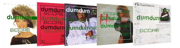dumdum SCORE LP Sleeves, Audio Sheep, Newcastle Upon Tyne