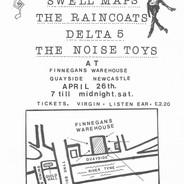 1980-04-26 Flyer for Swell Maps, Raincoa