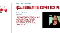 DATA Q&A: INNOVATION EXPERT LISA PRASSACK