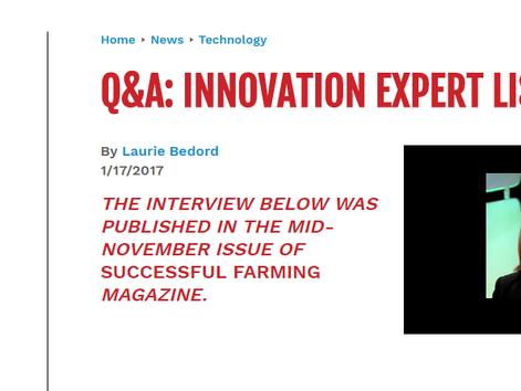 DATA Q&A: INNOVATION EXPERT LISA PRASSACK