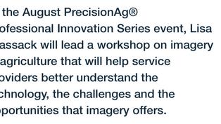Innovation Series Workshop Program Revealed