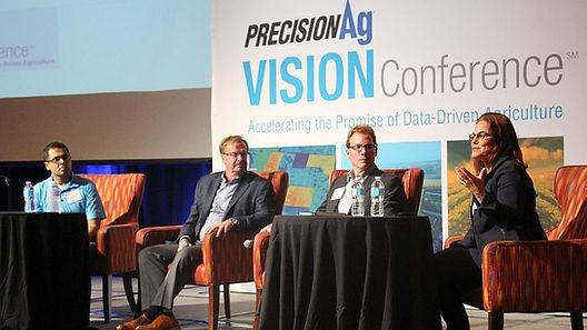 PrecisionAg Vision Conference IoT Agricutlure 'Preet Gil' Bosch 'Kip Tom' 'Tom Farms' ' Ron Zink'John Deere' IoT 'Lisa Prassack' 'Prassack Advisors'
