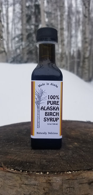 100% Pure Alaska Birch Syrup
