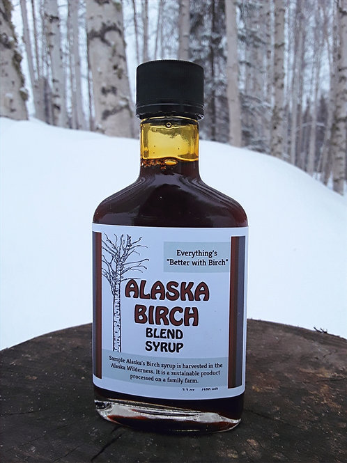 Birch Blend Syrup Flask
