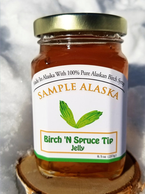 Birch 'N Spruce Tip Jelly