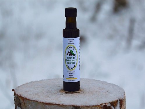 Birch 'N Chokecherry Jalapeno Vinegar Infusion