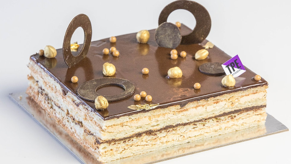 HAZELNUT OPERA CAKE(GF)