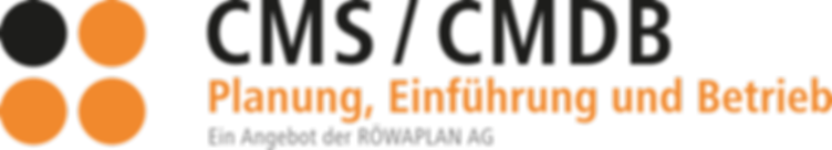 CMS / CMDB Planung, Einführung und Betrieb