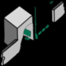 2020_06_23_Gebäude_und_Mauer_grau_3D_Sc